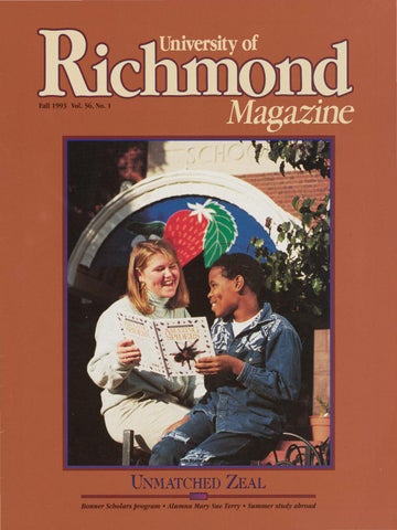 University of Richmond Magazine Fall 1993 by UR Scholarship