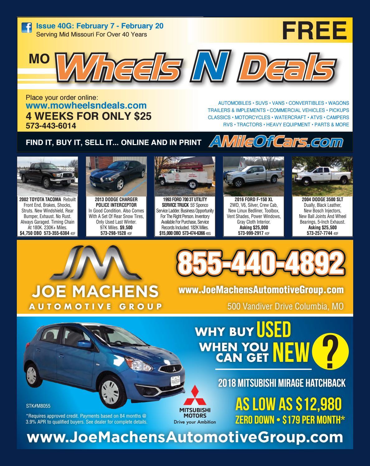 Wheels N Deals, Issue 40G by Maximum Media, Inc  - issuu
