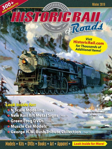 Historic Rail Winter 2019 Catalog By Historic Sales Issuu