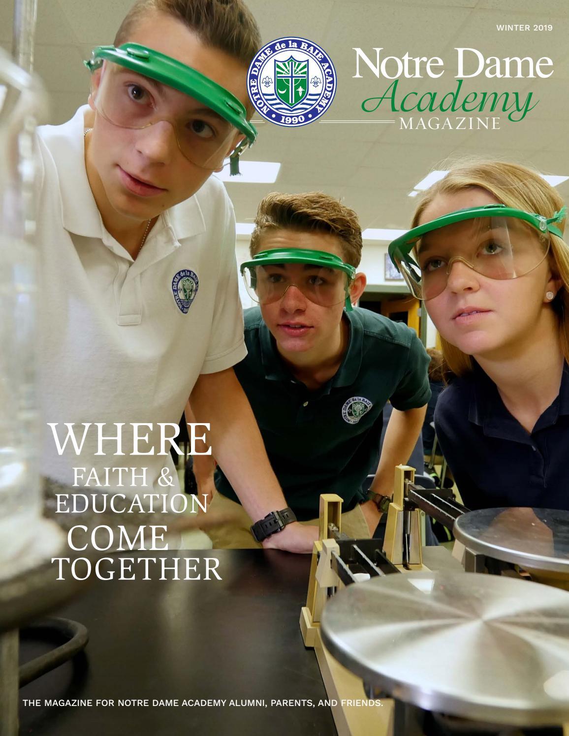 NDA Magazine by Notre Dame de la Baie Academy - issuu