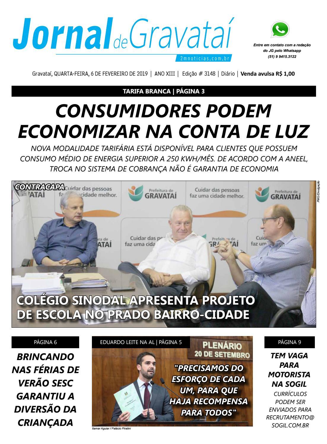 2b1c2c842 Jornal de Gravataí. Quarta-feira