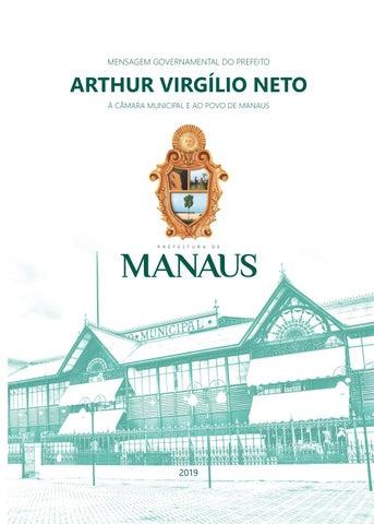 7b2d6d1353e Mensagem Governamental 2019 by Prefeitura de Manaus - issuu