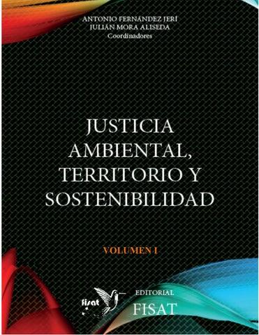 Justicia Ambiental Territorio Y Sostenibilidad By Fisat Issuu