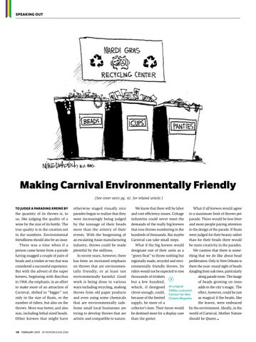 Page 18 of Making Carnival Environmentally Friendly