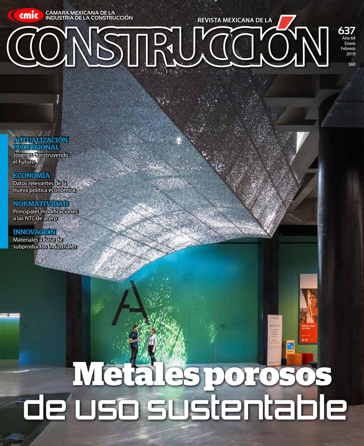 ef1c374d61db Revista Mexicana de la Construcción RMC 637 Enero-Febrero 2019 by ...