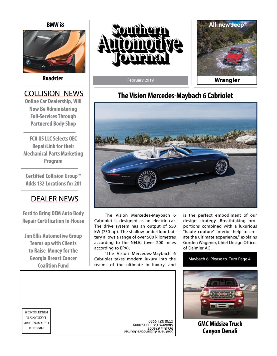 Southern Auto Parts >> Southern Automotive Journal February 2019 By Southern