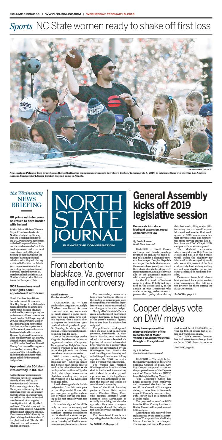 North State Journal Vol  3, Issue 50 by North State Journal - issuu