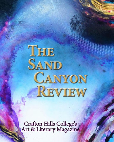 The Sand Canyon Review by The Sand Canyon Review - issuu