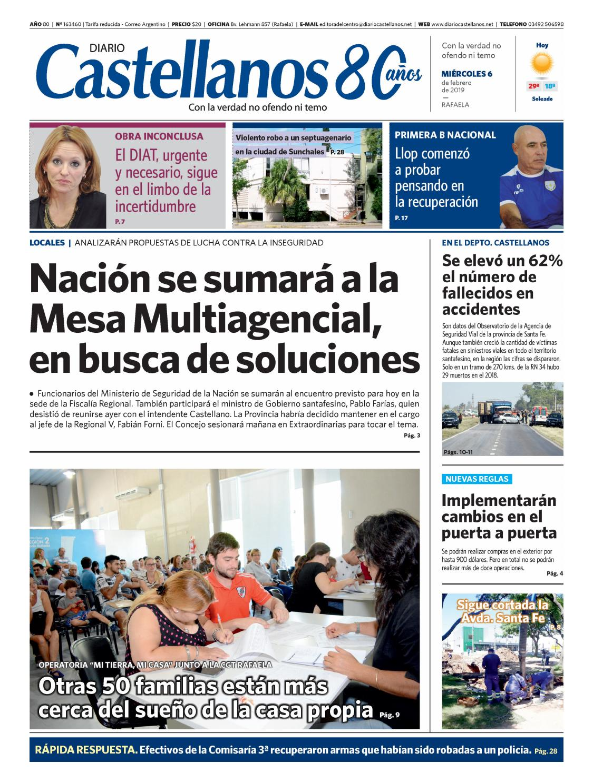 7d87ffc223 Diario Castellanos 06 02 19 by Diario Castellanos - issuu