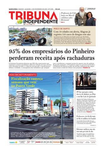 50f602e0c26 QUARTA-FEIRA n MACEIÓ - ALAGOAS - 6 DE FEVEREIRO DE 2019 - Nº 3.326 -