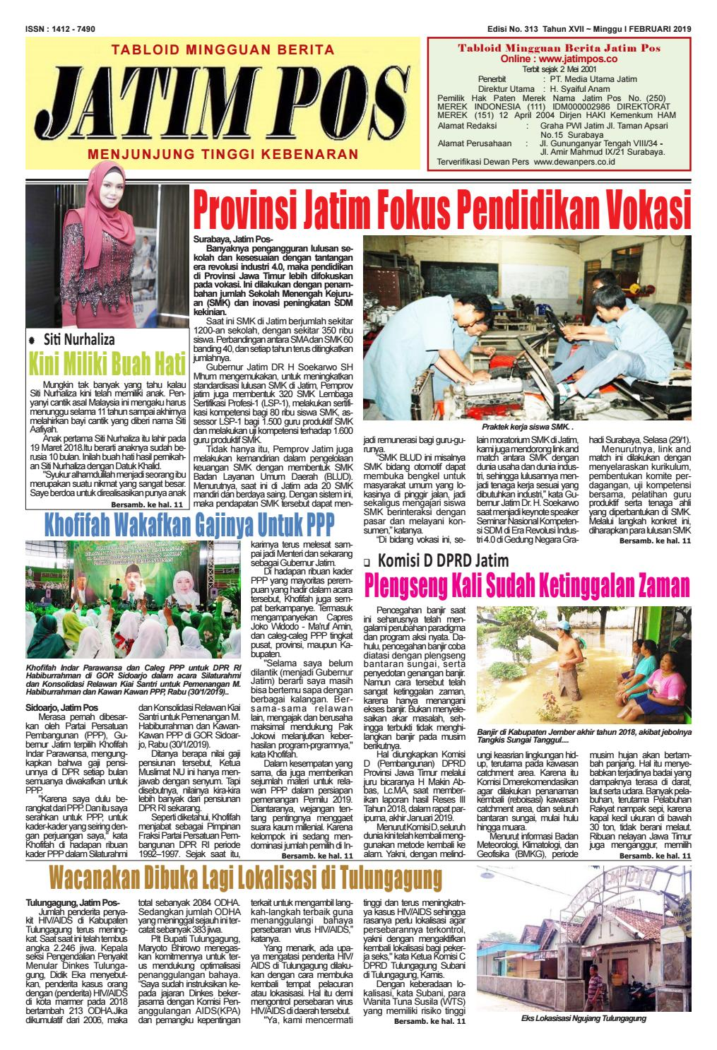Jatim Pos Edisi No  313 by jatimpos - issuu