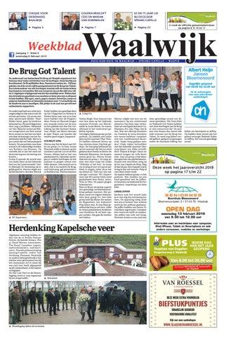 De 2019 Em Waalwijk By Jong 02 Uitgeverij Weekblad Issuu 06 sBCxQrthdo