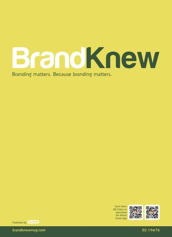 BrandKnew February 2019 by Brand Knew - issuu