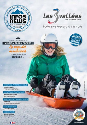 29ebe9a7816e6 Les 3 Vallées Infosnews n°343 by Magazine INFOSNEWS - issuu