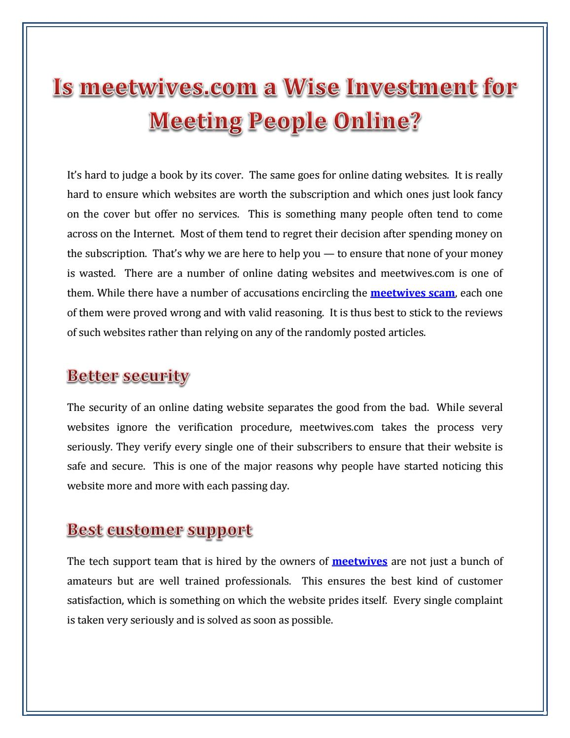 Can we trust Meetwives COM? by Meet Wives - issuu