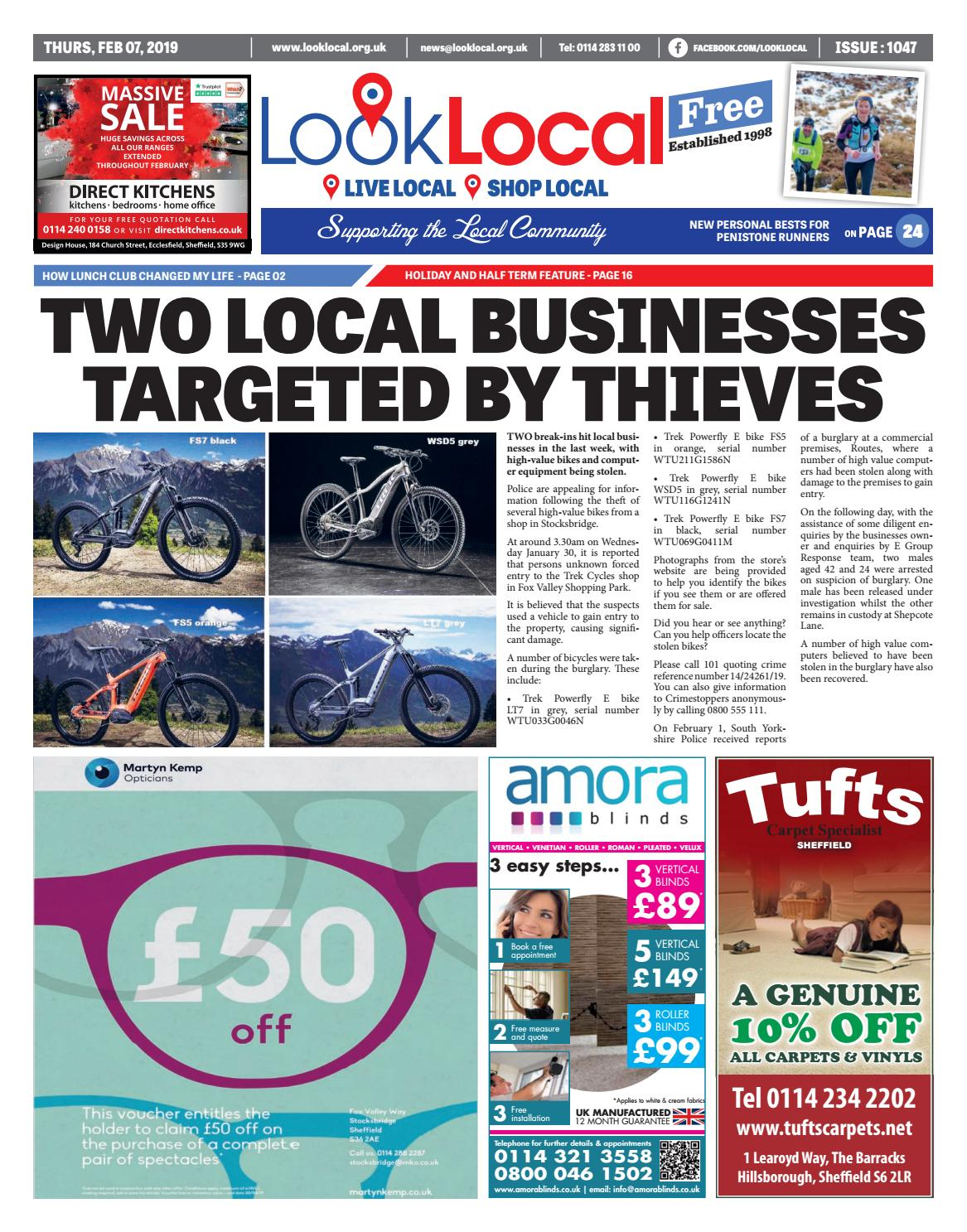 75c2661255 Issue 1047 Thursday 7 February 2019 by Look Local Newspaper - issuu