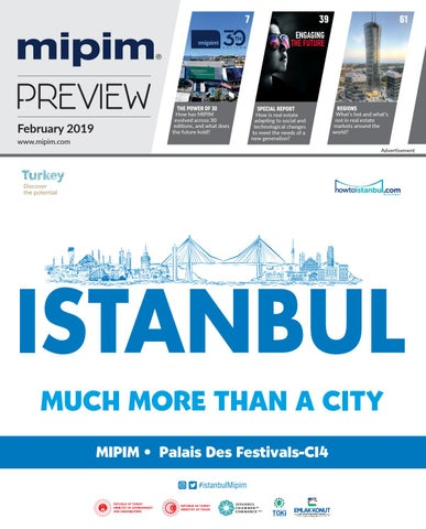 ba389f38d8f MIPIM 2019 PREVIEW MAGAZINE by REED MIDEM REAL ESTATE SHOWS - issuu