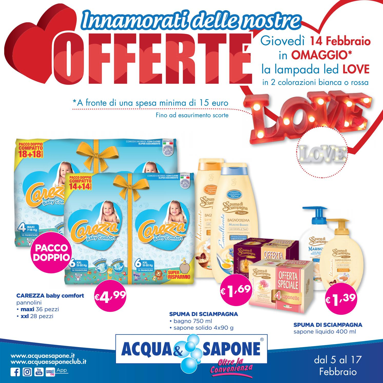 Volantino Acqua&Sapone n.4 2018 by Acqua & Sapone asclub