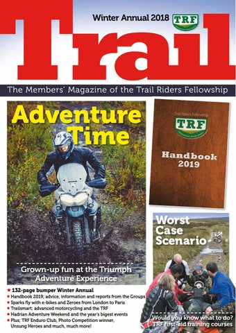 ddfc8ceca7b Winter 2018 TRF Trail Magazine by Trail Magazine - issuu