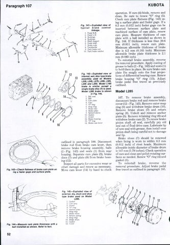 Kubota L185 Tractor Service Repair Manual By 1639483 Issuu