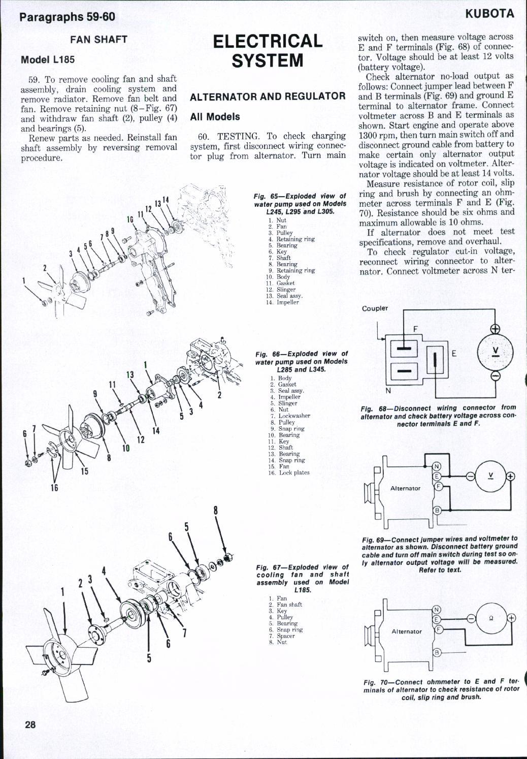 Kubota Wiring Diagrams - Wiring Diagrams on