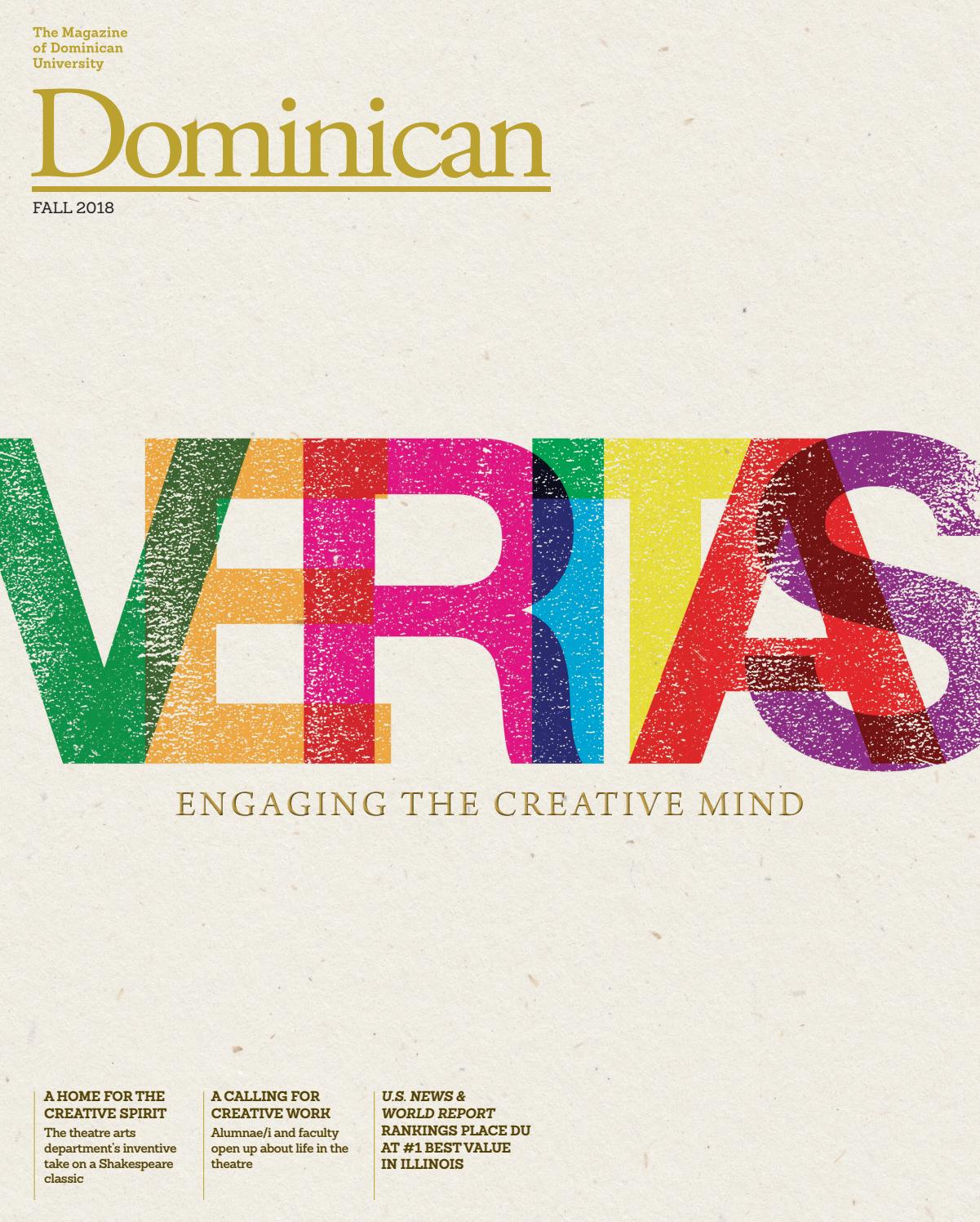 Dominican University Magazine, Fall 2018 by Dominican