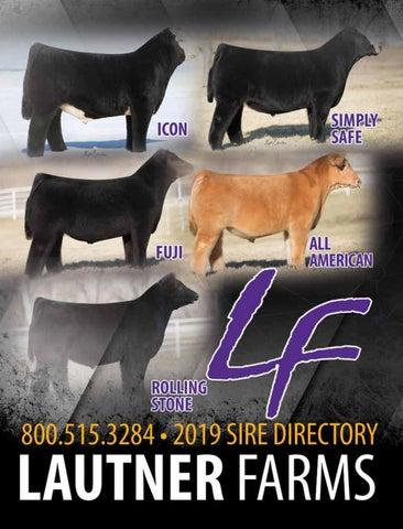 2019 Lautner Farms Sire Directory by SCI - Stephanie Cronin, INC - issuu