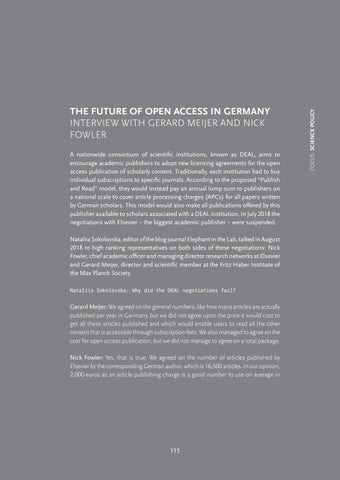Page 117 of The future of open access in Germany