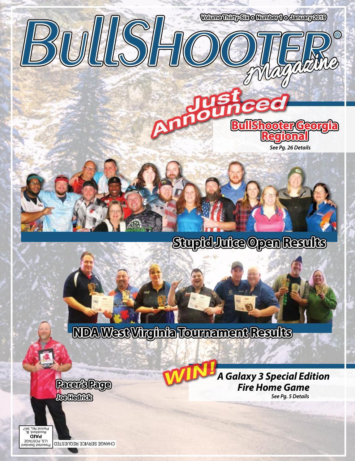 BullShooter Volume Thirty-Six Number 1 January 2019 by