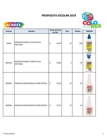 2b94c4c2b6e Propuesta Escolares 2019 by Traiana Duhalde - issuu