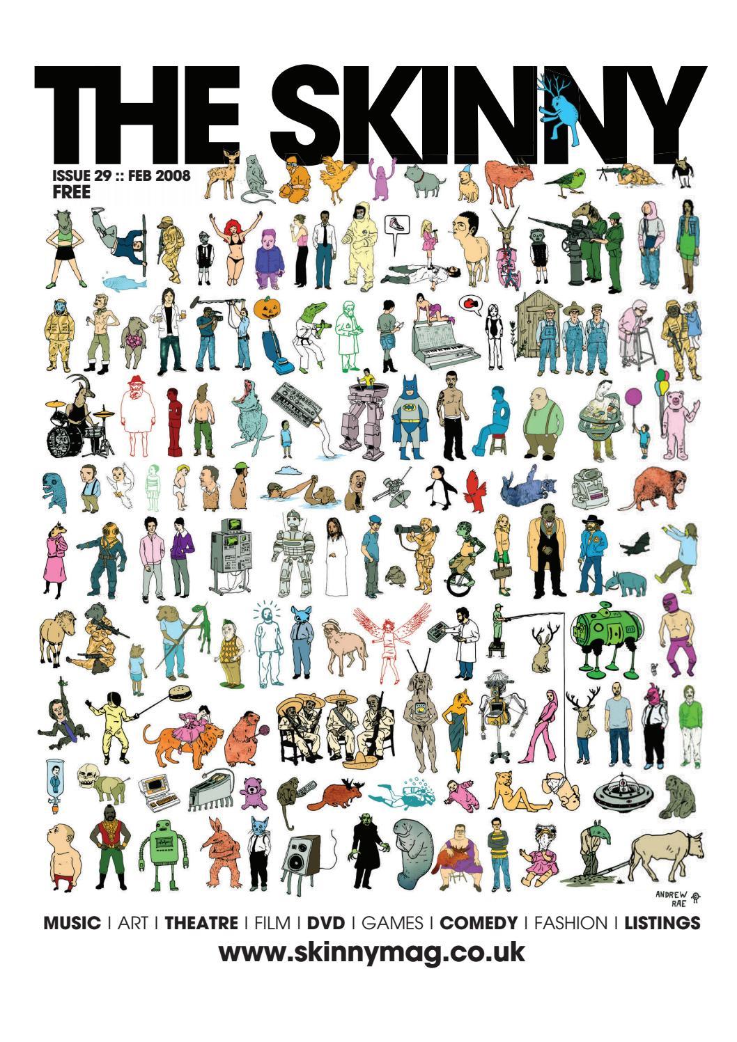 6abc64263 The Skinny February 2008 by The Skinny - issuu