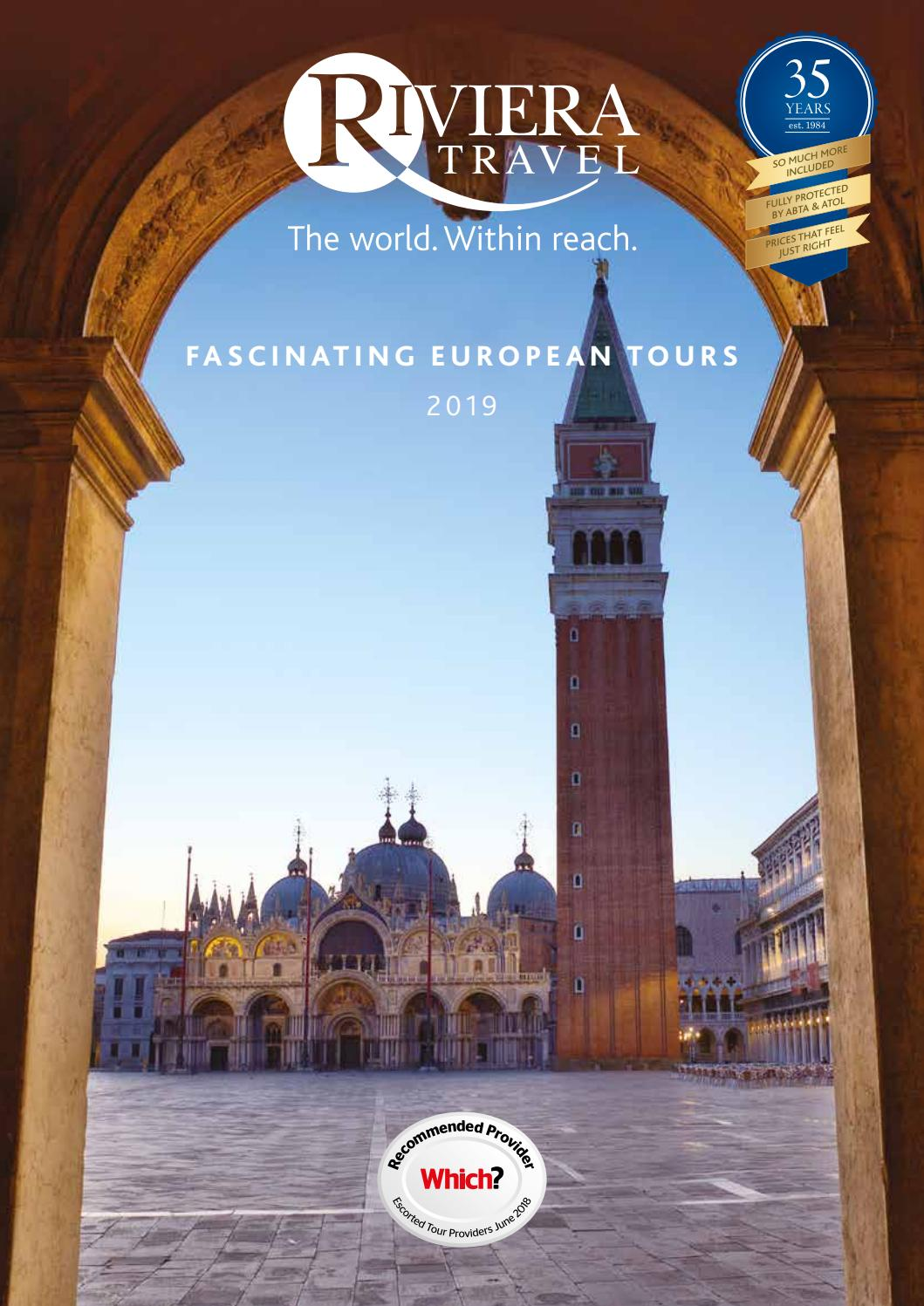 6f3aa5b887 Fascinating European Tours 2019 by Riviera Travel - issuu