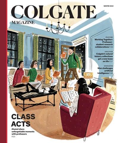 32e68fc6 Colgate Magazine — Winter 2019 by Colgate University - issuu