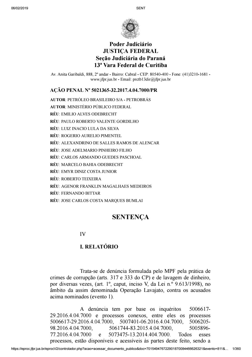Condenação de Lula by Nicolas Iory - issuu 2744dc9e43