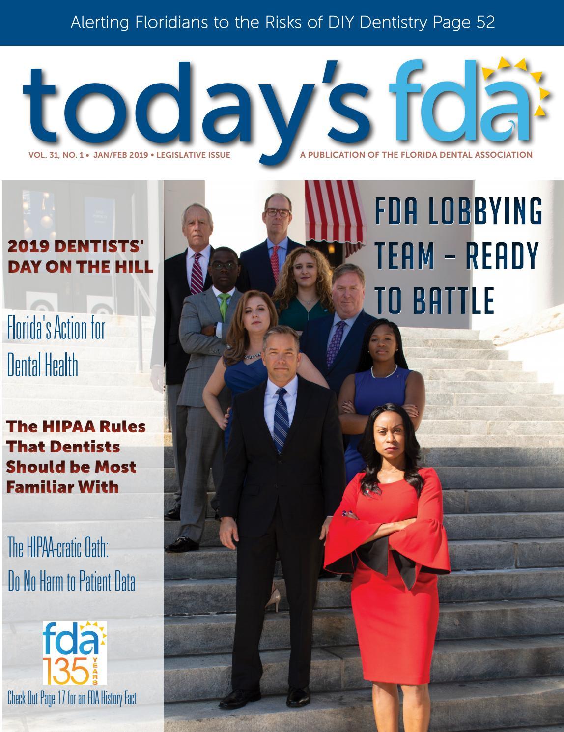 e7b11cbd7c5 2019 - Jan Feb TFDA by Florida Dental Association - issuu