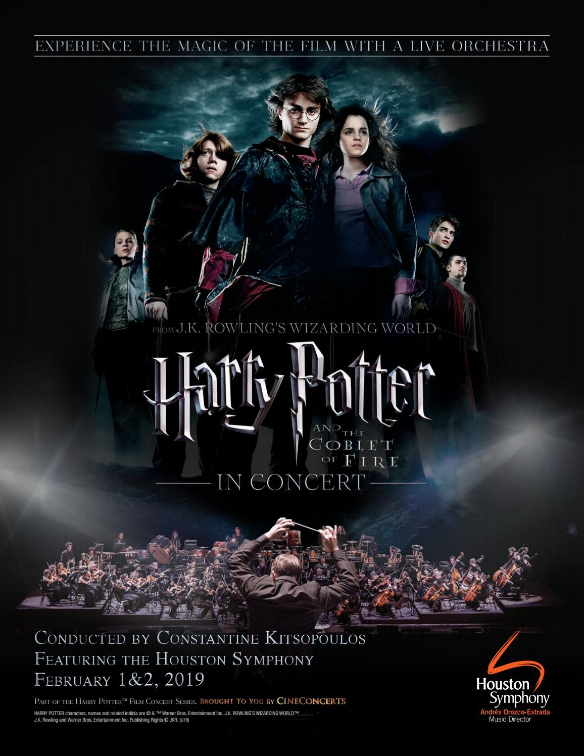 Harry Potter and the Goblet of Fire — In Concert™ by Houston