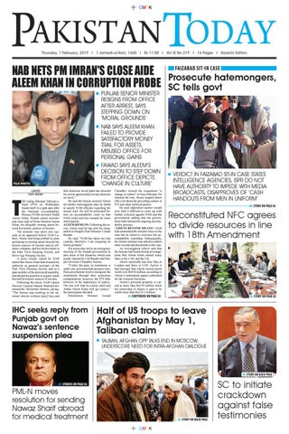 E-Paper PDF 7th February 2019 (KHI) by Pakistan Today - issuu
