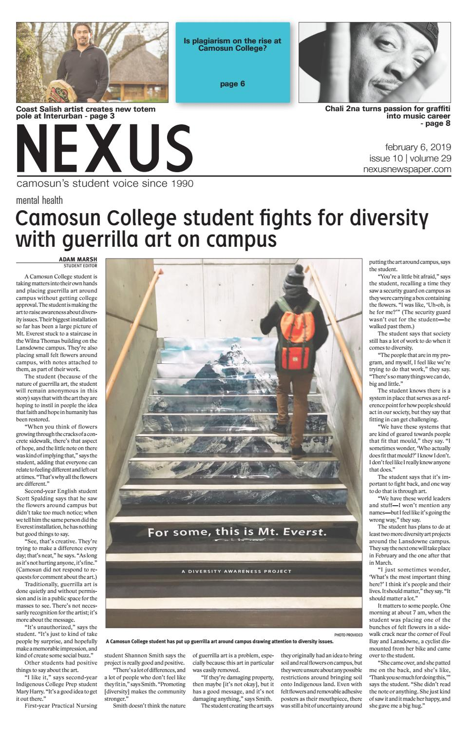 Nexus newspaper February 6, 2019 by Nexus - issuu
