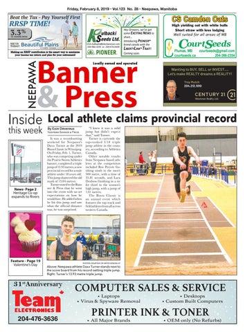 Friday February 8 2019 Neepawa Banner Press By