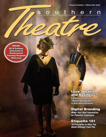 Southern Theatre, Vol  60, Issue 1 by Southeastern Theatre