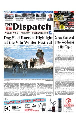 Dawson Trail Dispatch February 2016 by The Dawson Trail Dispatch - issuu