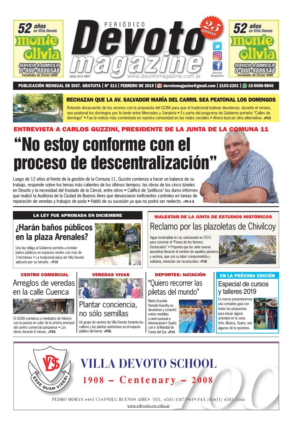 41cd3824e377 Devoto Magazine Nº 313 - Febrero de 2019 by Devoto Magazine - issuu