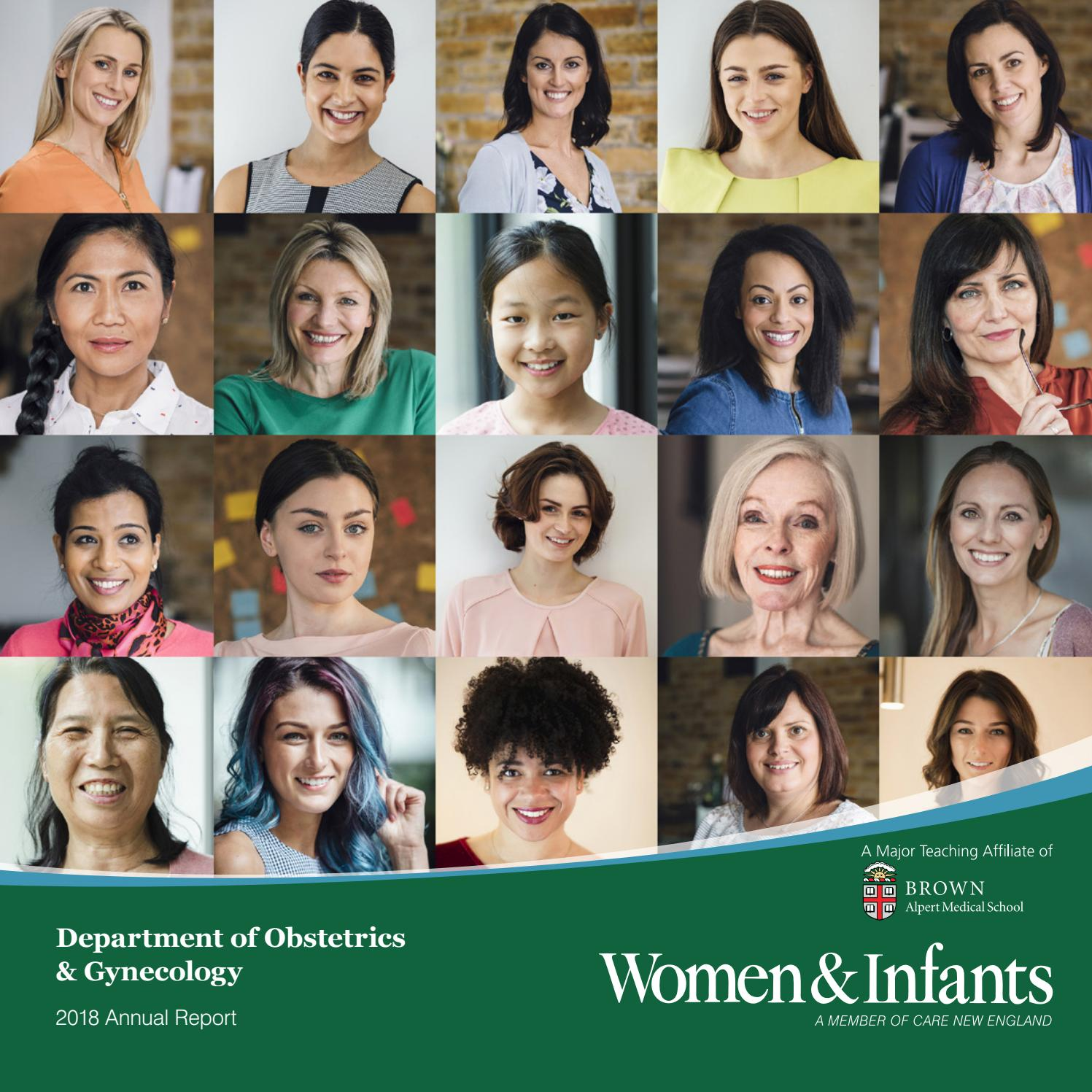 Women & Infants Department of Obstetrics and Gynecology 2018