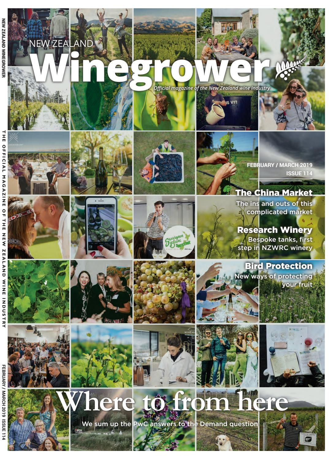 6cef74d10 NZ Winegrower February/March 2019 by Rural News Group - issuu