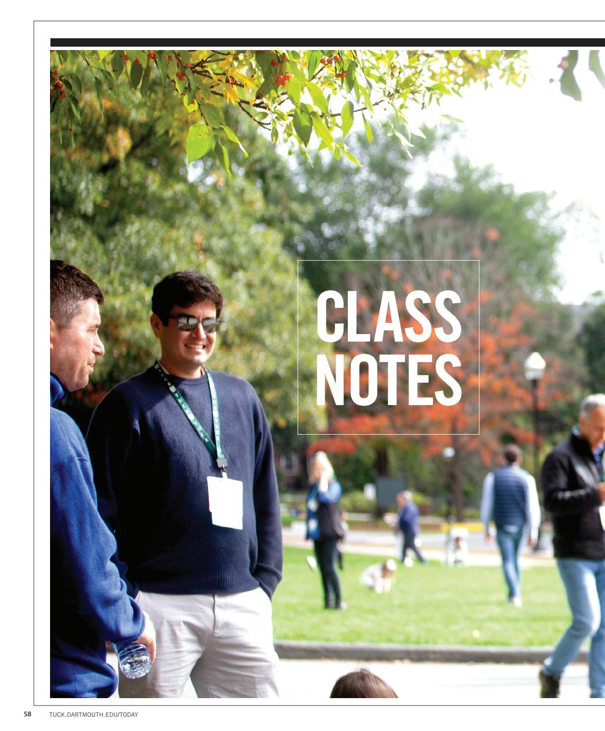 2c31e0ae459b Class Notes Winter 2019 by Tuck School of Business at Dartmouth - issuu