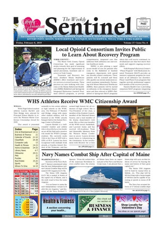 WS Feb  8, 2019 by Weekly Sentinel - issuu