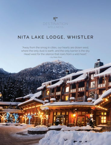 Page 36 of Destination Wellness: Whistler, BC