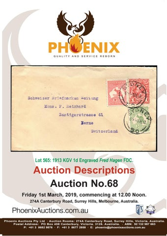 Phoenix Auctions #68 by Phoenix Auctions Pty Ltd - issuu