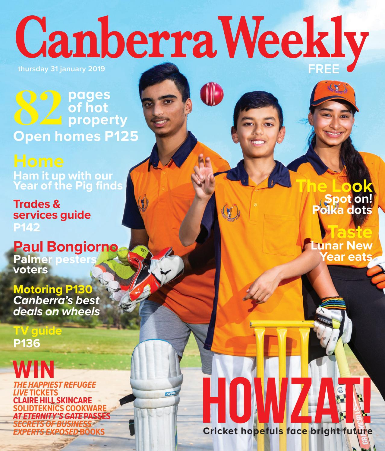 74832a7572dd 31 January 2019 by Canberra Weekly Magazine - issuu