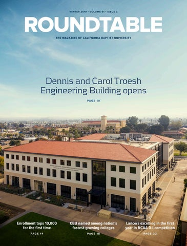 The Roundtable Magazine Volume: 61 Issue: 3 by California Baptist